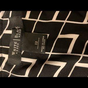 White House Black Market Dresses - Backless halter evening dress